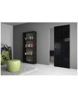 ProfilDoors MAGIC 1STK Pine Black gloss кр. хром с 4 сторон