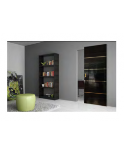 ProfilDoors MAGIC 7STK Pine Black gloss кр. хром с 4х сторон